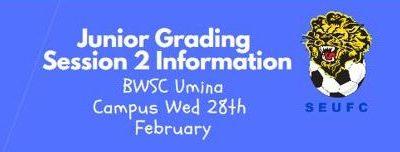 Session 2 – Junior Grading Info