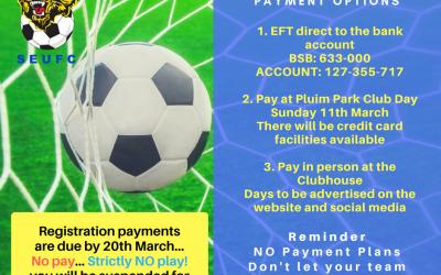 Registration Payment Options