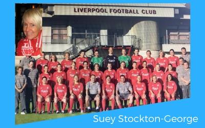 SEUFC Welcomes Suey Stockton-George