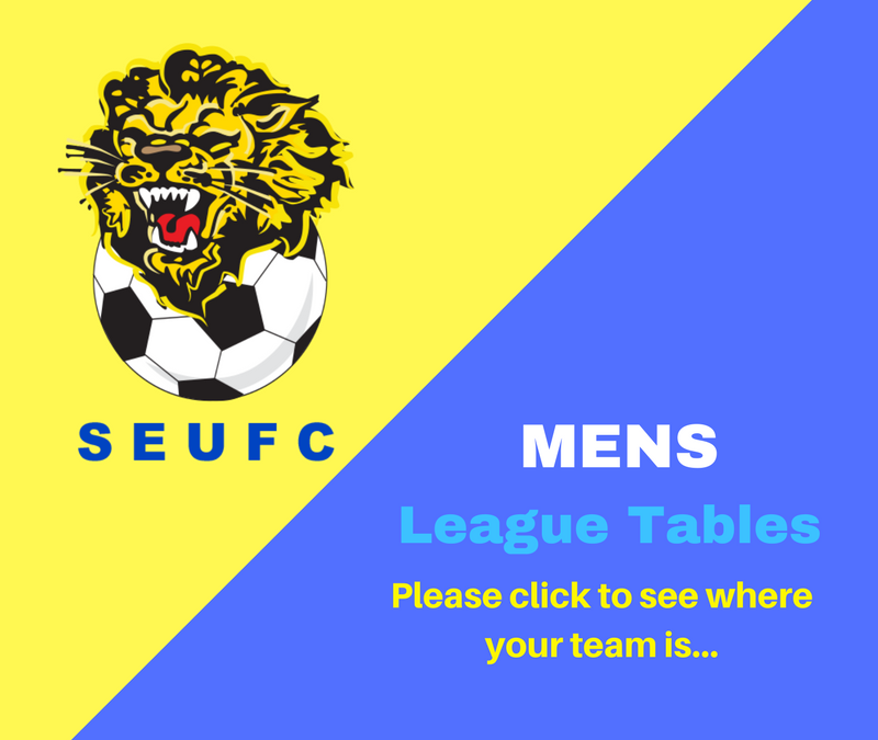 Mens League Tables 2018