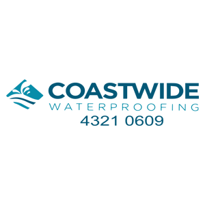 coastwide water proofing logo