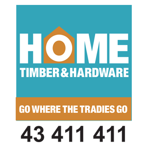 home timber & hardware woy woy logo