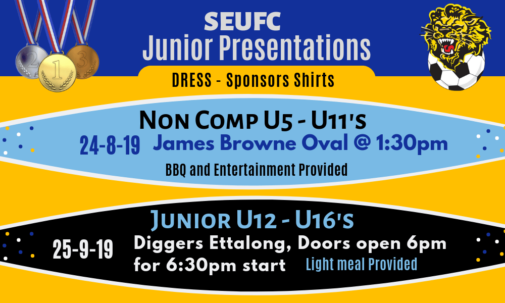 2019 Junior Presentations