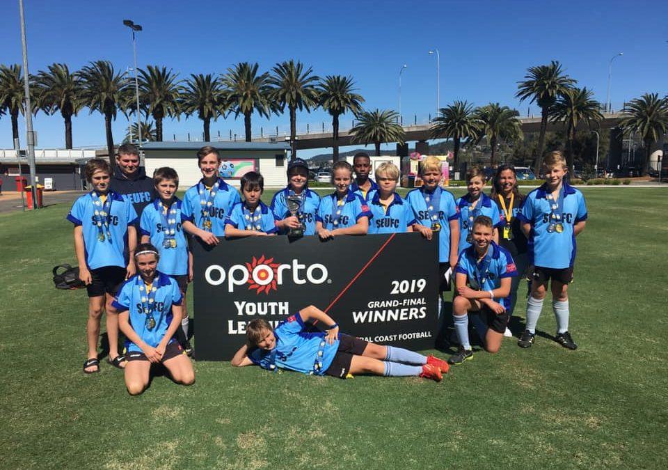 SEUFC U13C's Champions