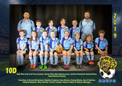 SEUFC Junior Under 10 Teams