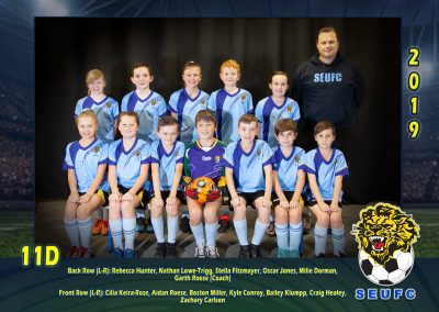 SEUFC Junior Under 11 Team