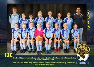 SEUFC Junior Under 12 Teams