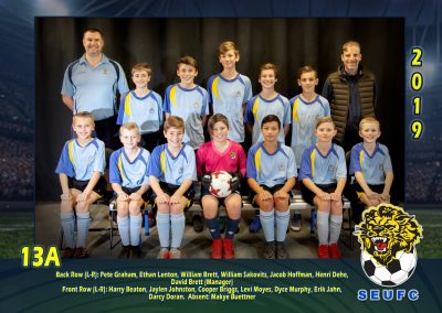 SEUFC Junior Under 13 Teams