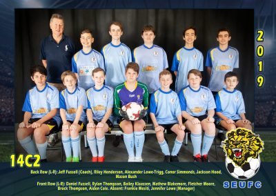 SEUFC Junior Under 14 Teams