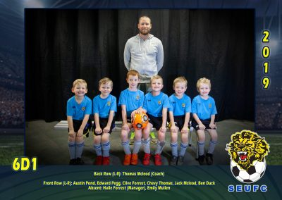 SEUFC Junior Under 6 Teams