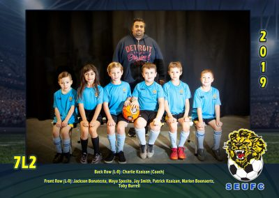SEUFC Junior Under 7 Teams