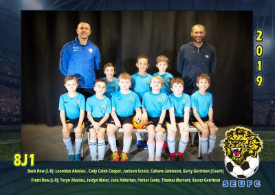 SEUFC Junior Under 8 Teams