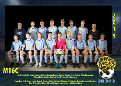 SEUFC Junior Under 16C Team