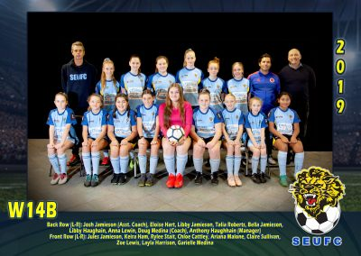 SEUFC Junior W14B Team