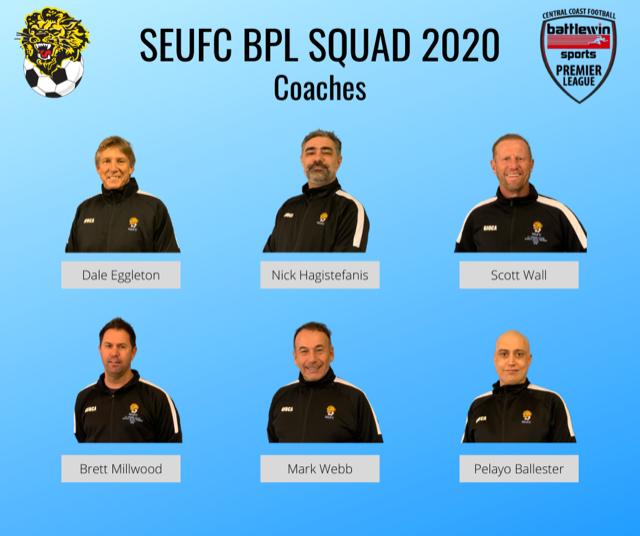SEUFC BPL Team 2019-2020