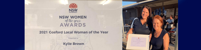 2021 Gosford Woman of The Year